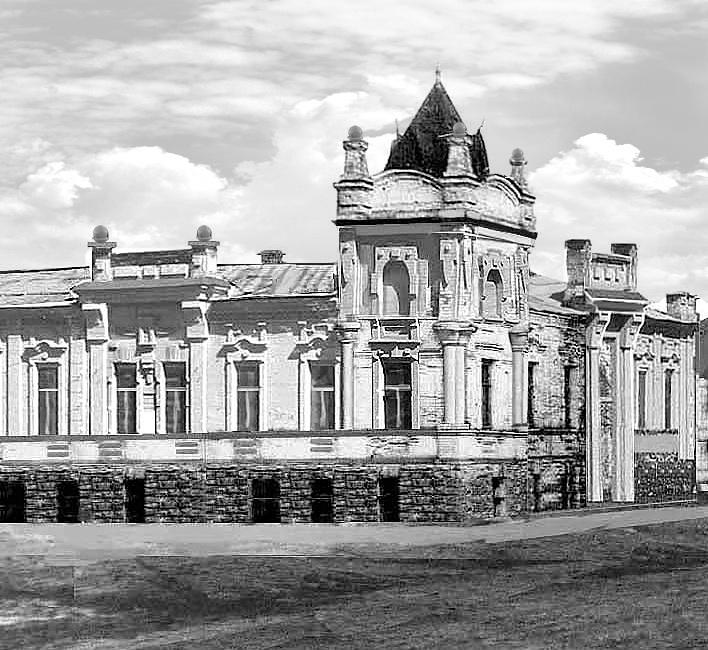 Дом купца Решетникова, попечителя Николаевского реального училища