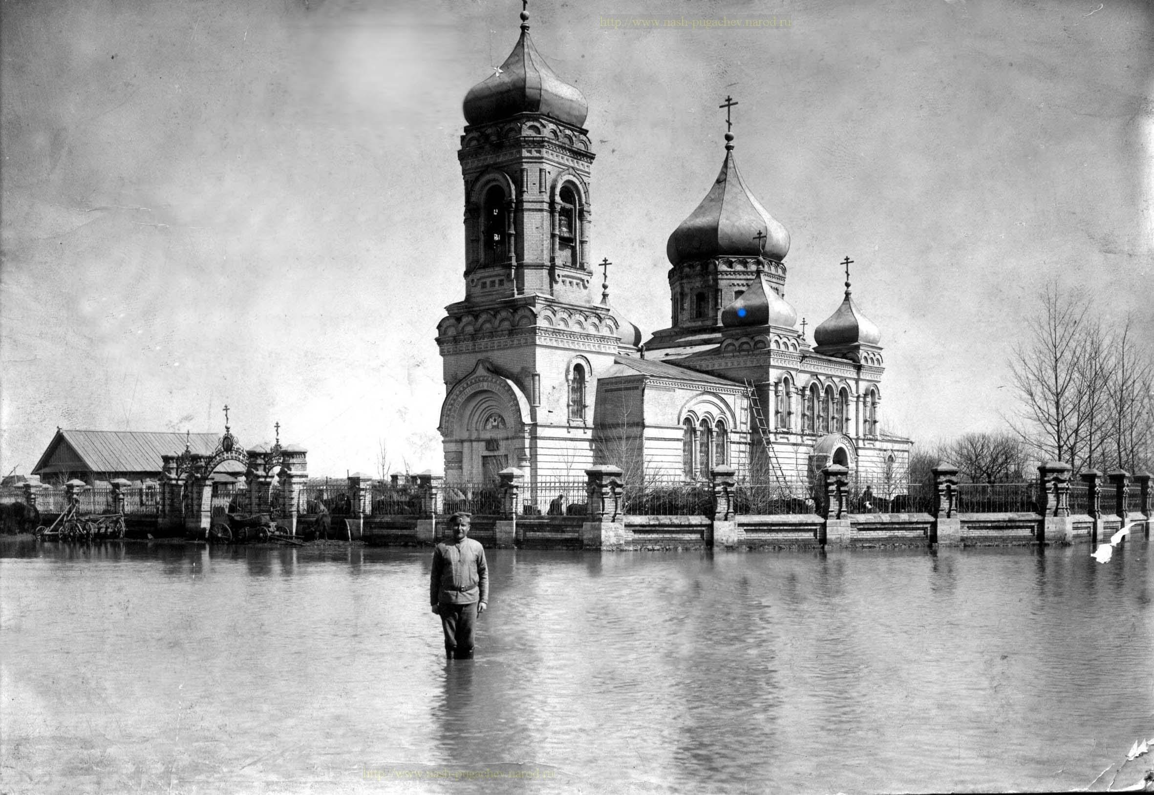 Половодье. с. Давыдовка