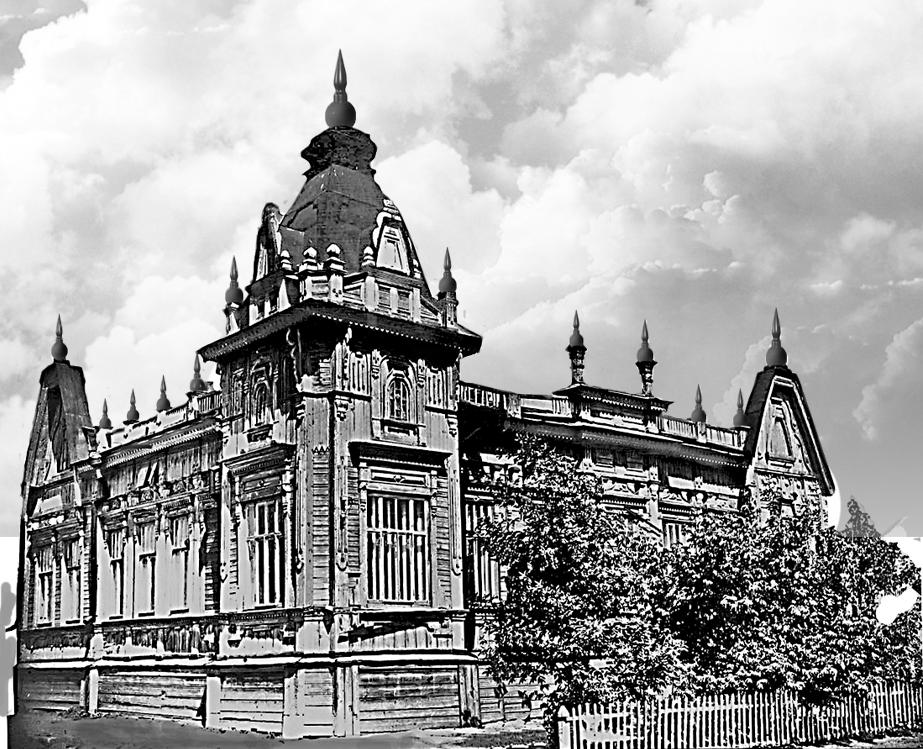 Дом Капитолины, племянницы Д. Ястребова
