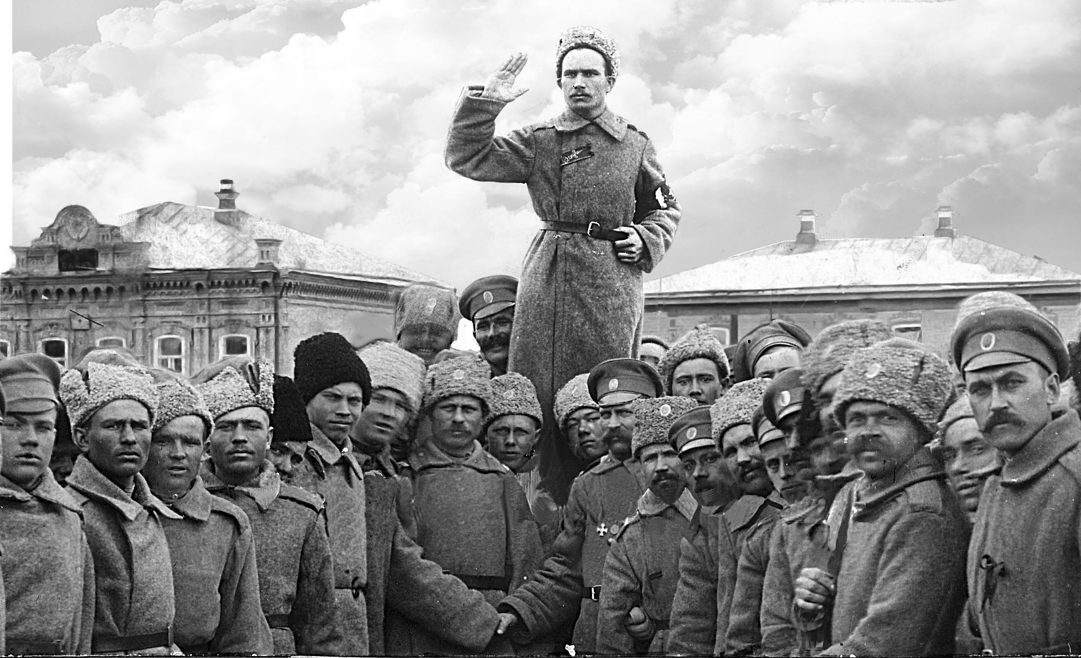 Лидер большевиков Николаевска В. Ермощенко