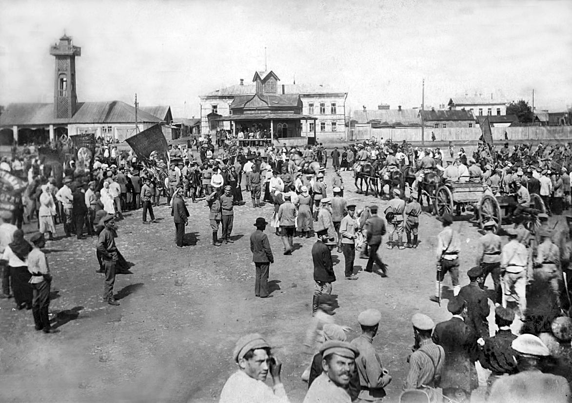 1 мая 1917 года, завершение демонстрации