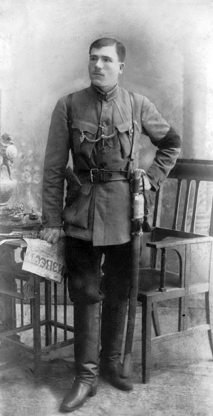 Командир первого Николаевского полка П. Суров