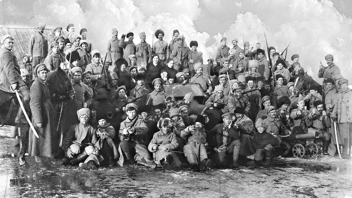 Первый отряд красной гвардии, созданный в Николаевске в 1918 году