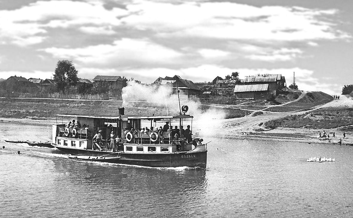 Пассажирский пароход