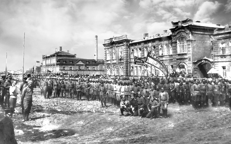 Земля и воля. Революционнные события. Николаевск, 1917 год