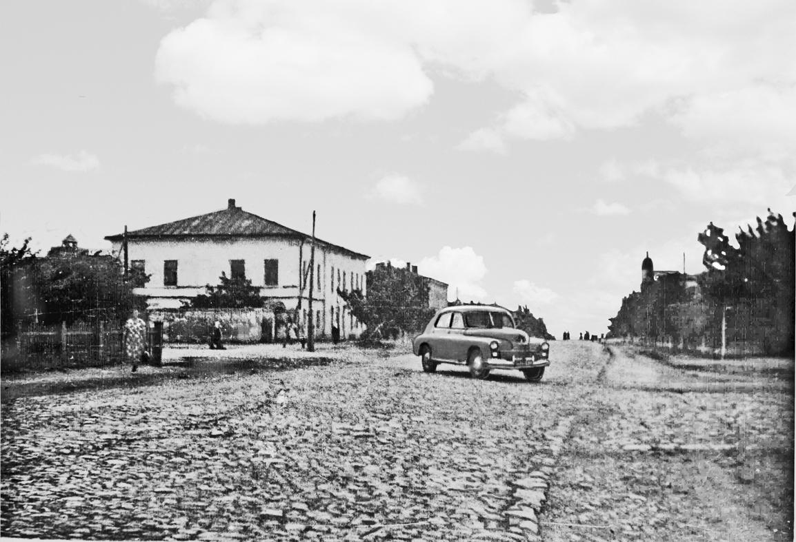 Пугачев, ул. Топорковская. 1951 год