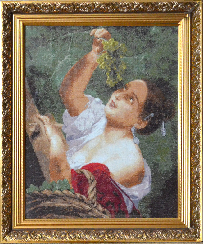 В.В. Бесонова. Гладь. Итальянский полдень. По мотивам картины К.П. Брюллова.
