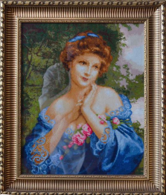 В.В. Бессонова. Летняя роза. По мотивам картины Ф.М. Кавела