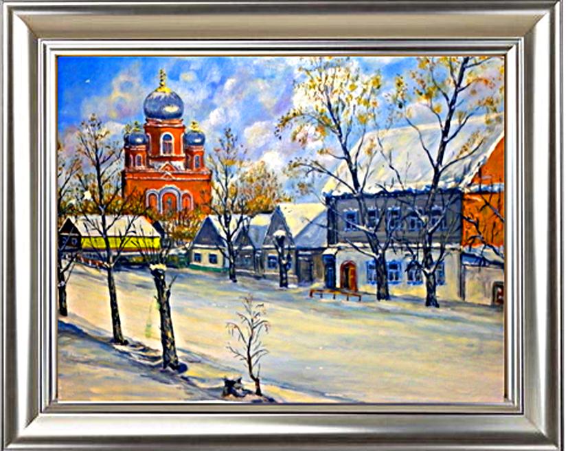 Зима в Пугачеве