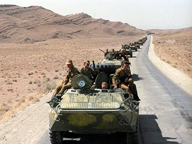 войска уезжаеют из Афганистана