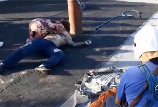 Во время кровельных работ в Пугачеве умер рабочий (видео)