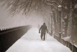 Снегопад уйдет в сторону Оренбурга