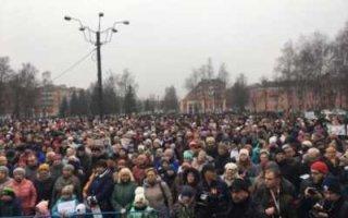 Жителям Пугачева: Вот так надо выходить!