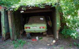 Нет гаража – не будет и машины