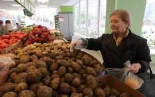 В области подорожал картофель
