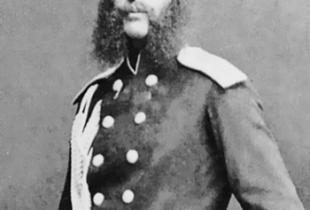 Ротмистр Пушкин, сын поэта в Николаевском уезде