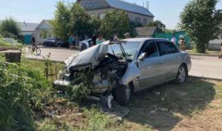 В центре Пугачева произошла жесткая авария