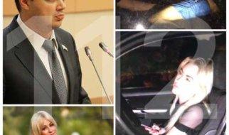 Пьяного министра правительства Радаева «застукали» с чиновницей в служебном авто