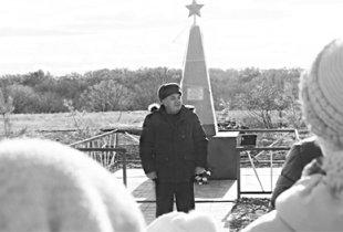 Памятник расстрелянным коммунистам