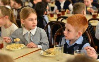 Рост цен на продукты не должен отражаться на стоимости школьных обедов