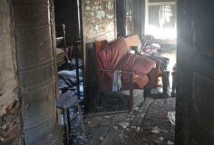 В Ивантеевском районе в огне погиб 44-летний мужчина
