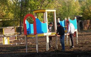 Детские площадки для города