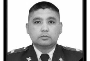 В Перелюбском районе похоронили полицейского, погибшего при нападении боевиков в Грозном