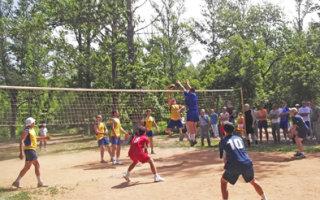 Праздник спорта в городском парке
