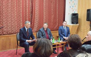 """Н. Панков: """"В Заволжском живут очень активные люди"""""""