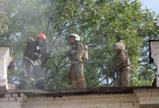 В Пугачеве на пожаре погиб мальчик
