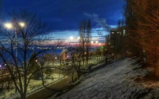 Ночные морозы и дневные оттепели