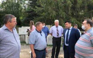 Станция очистки воды для Пугачевского санатория
