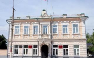 Структура управления, памятники истории и пассивное население