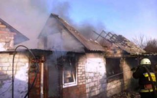 На пожаре в Рахмановке погибли мужчина и женщина