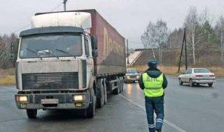 На федеральных трассах ограничат движение грузовиков