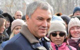 В. Володин опасается, что деньги на тротуары разворуют