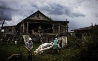 Область вымирает и теряет сельское население