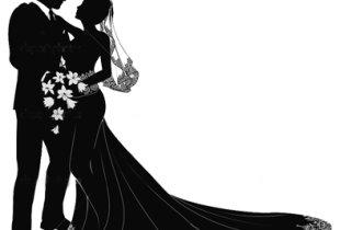 По водной глади в свадебной фате