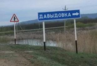 Жители Давыдовки обратились за помощью к О. Лубковой