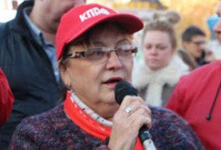 О. Алимова анонсировала акции протеста