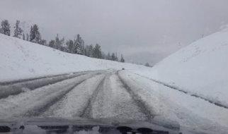 В Саратовской области из-за погодных условий отменены автобусные рейсы