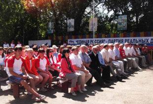 Молодежный форум на берегу Иргиза