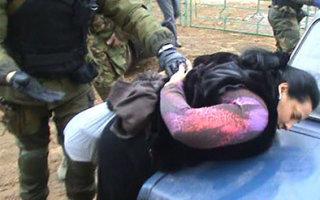 Бойцы ФСБ задержали лиц цыганской национальности, торговавших героином