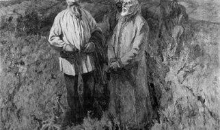 Лев Толстой в Николаевском уезде