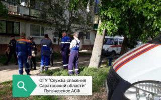 В Пугачеве спасатели не дали неадекватной гражданке взорвать многоквартирный дом