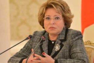 Матвиенко рассказала куда пошли деньги выделяемые на медицину