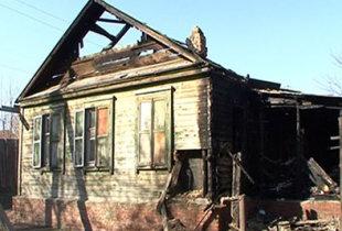 Пожар унес жизнь человека