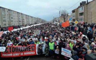 Негативный образ столицы на фоне массовых протестов