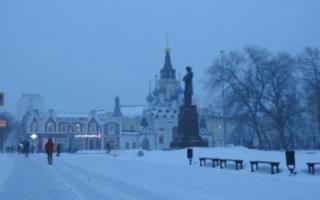 В Саратовскую область вернутся снег и морозы