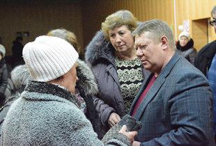 Н. Панков пообещал жителям Березово помощь в реконструкции водопровода
